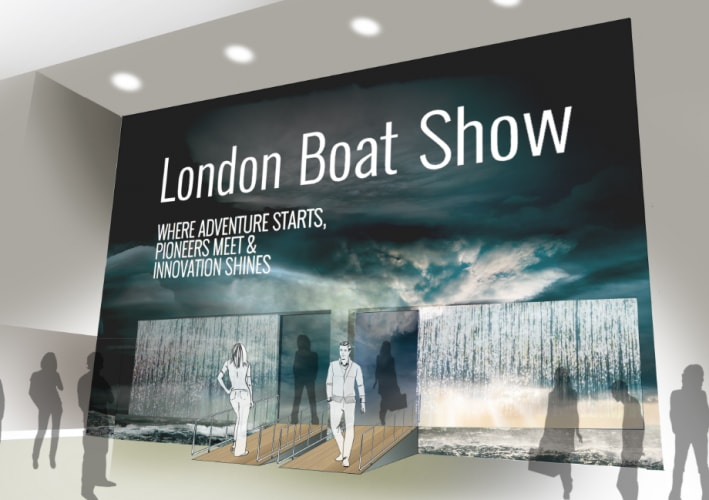london boat show ingresso