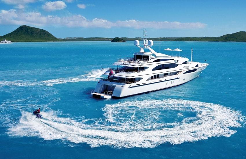 Charter moto ad acqua