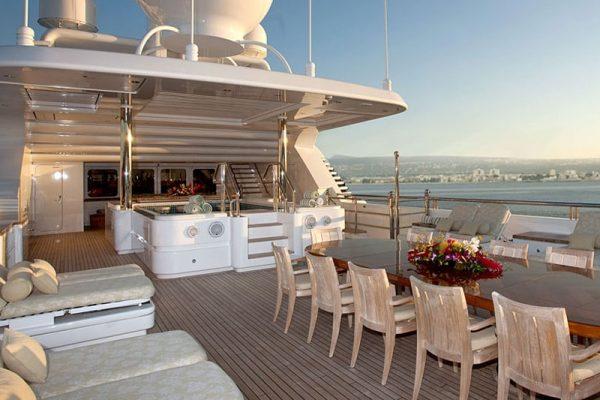 Super Yachts servizio di Sani Boat