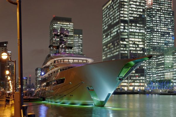 Yachts logistica marittima
