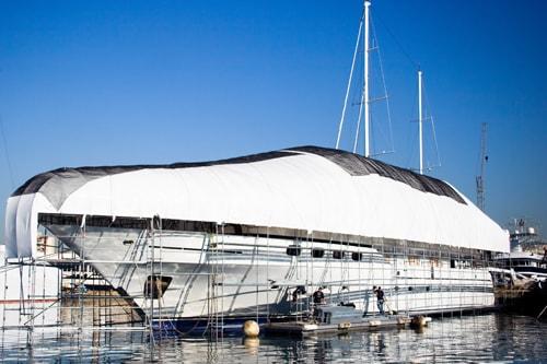 Servizio di Rifitting Yachts: alaggio, varo, carene e zinchi