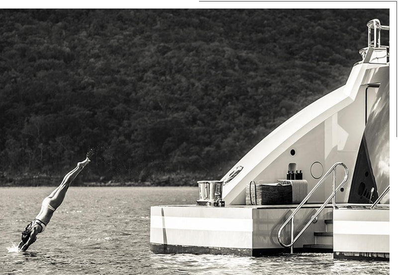 Marina Yachts logistica marittima